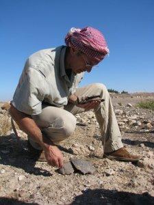L'archeologo Nicolò Marchetti, direttore della missione a Karkemish