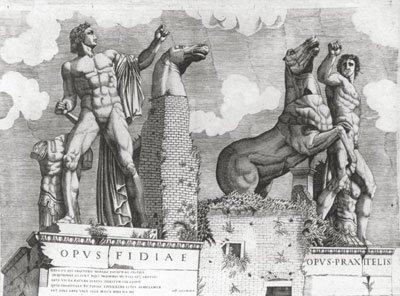 Roma: i Dioscuri sul Quirinale
