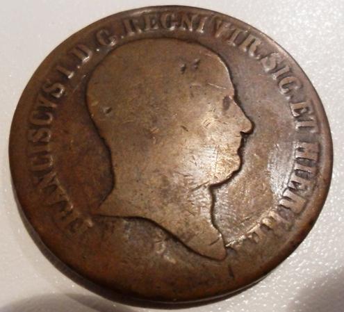 5e7f70970a 10 Tornesi 1825 - Francesco I - Monete e Medaglie delle Due Sicilie ...