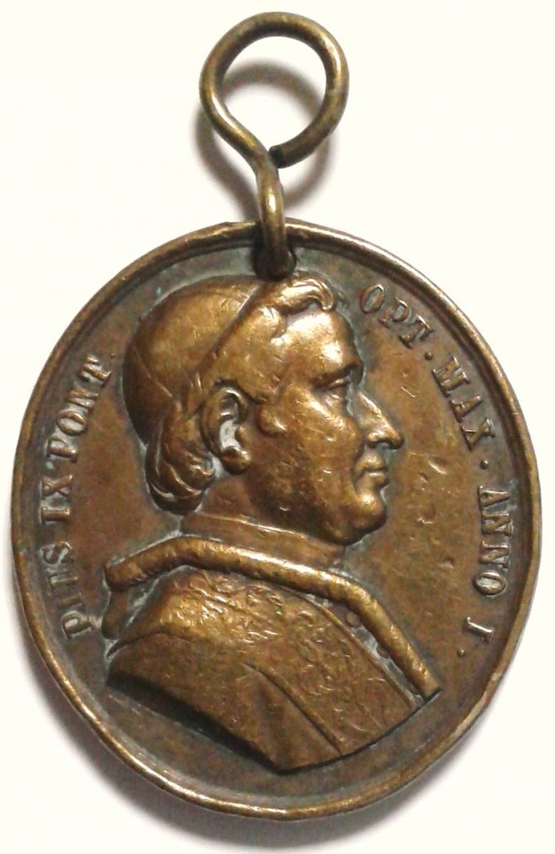 Medaglie papali inedite e rare monete e medaglie for Siti di collezionismo