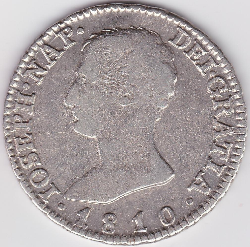 Quatro Reales 1810/A