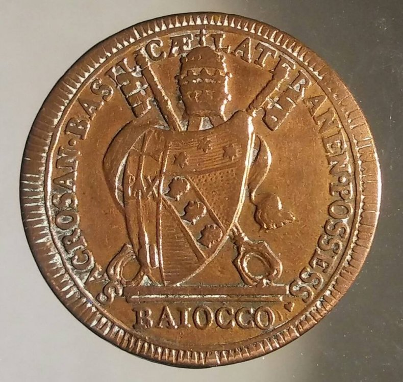 Baiocco Pio VII - Monete e Medaglie Pontificie - Lamoneta ...