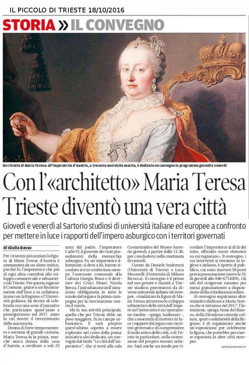 Maria Teresa - il Piccolo 181016.jpg