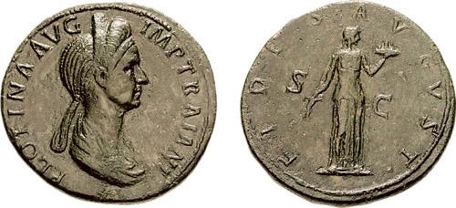 Plotina , moglie di Traiano , RIC740.jpg