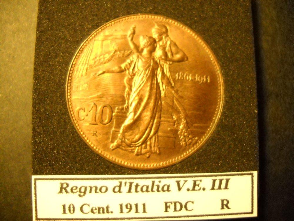 10 cent. 1911 FDC (in vetrina9.jpg
