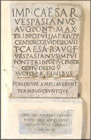 Vespasiano , Pomerium.jpg