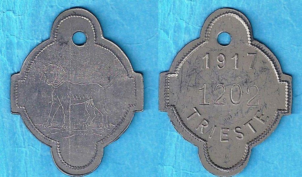 4.Medaglietta cane 1917 n. 1202 Verona 2016.jpg
