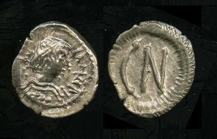 Maurizio tiberio CN001 o Agilulfo longobardi 0,30 g forse pavia.jpg