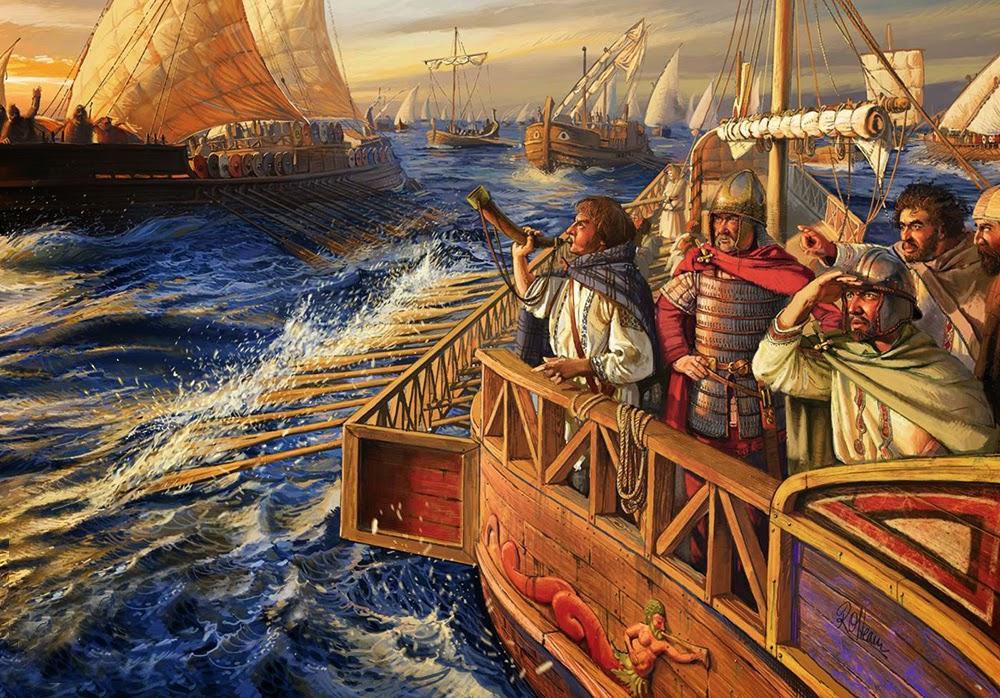 La flotta dell'imperatore Maggioriano...jpg