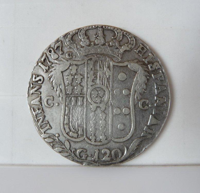 Piastra da 120 Grana 1787 6° Tipo Regno di Napoli (2).JPG