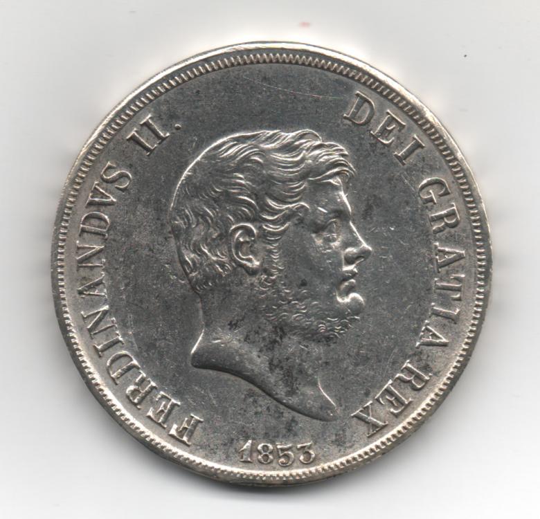 Piastra 120 Grana 1853 6° Tipo Regno Delle Due Sicilie Ferdinando II di Borbone 1830-1859 (1).png
