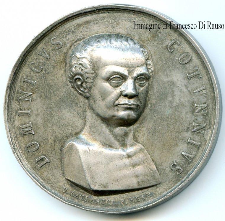 MEDAGLIA arg.1824 OMAGGIO A  DOMENICO COTUGNO.JPG