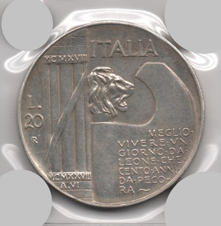 20 Lire 1928 Elmetto V.E. III (4).png
