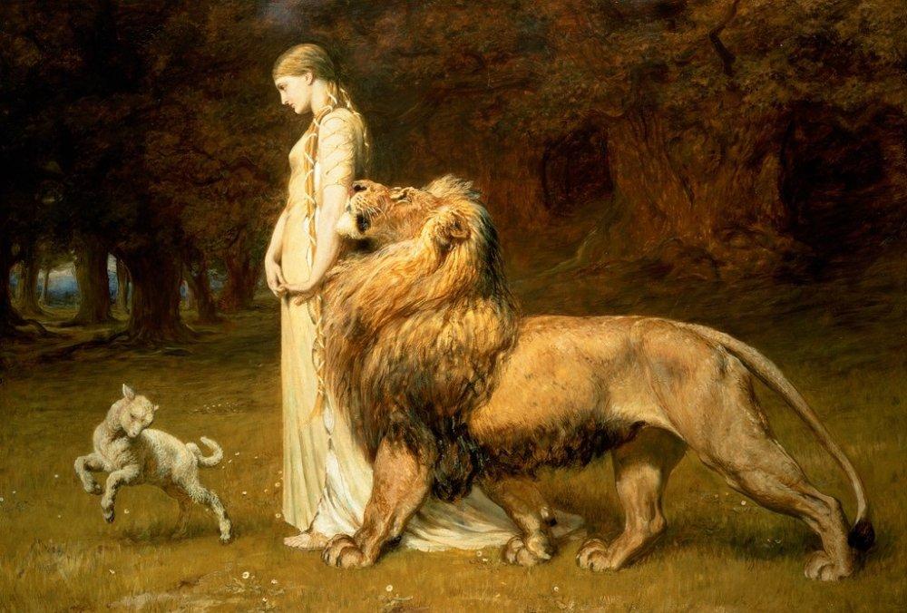 Briton_Rivière_-_Una_and_the_Lion.jpg