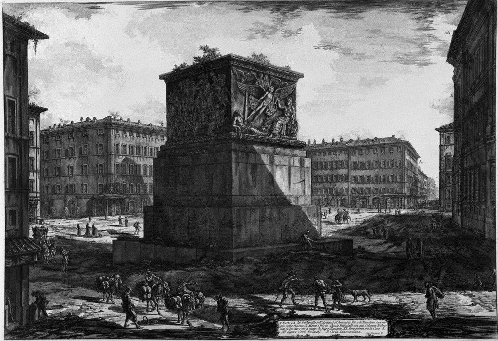 Antonino Pio , Base della Colonna di Giuseppe Vasi.jpg