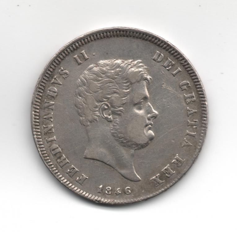 Mezza Piastra da 60 Grana 1846 4° Tipo Regno Delle Due Sicilie Ferdinando II di Borbone 1830-1859 (1).png