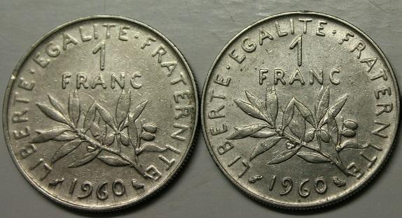 Francia 1 franco 1960 zero grande.JPG