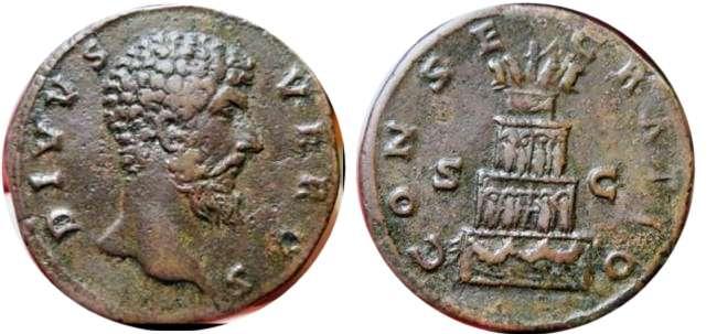 Lucio Vero , Consecratio , RIC1511.jpg