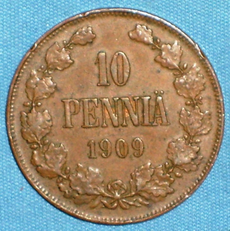 Finland 10 pennia 1909 r.JPG