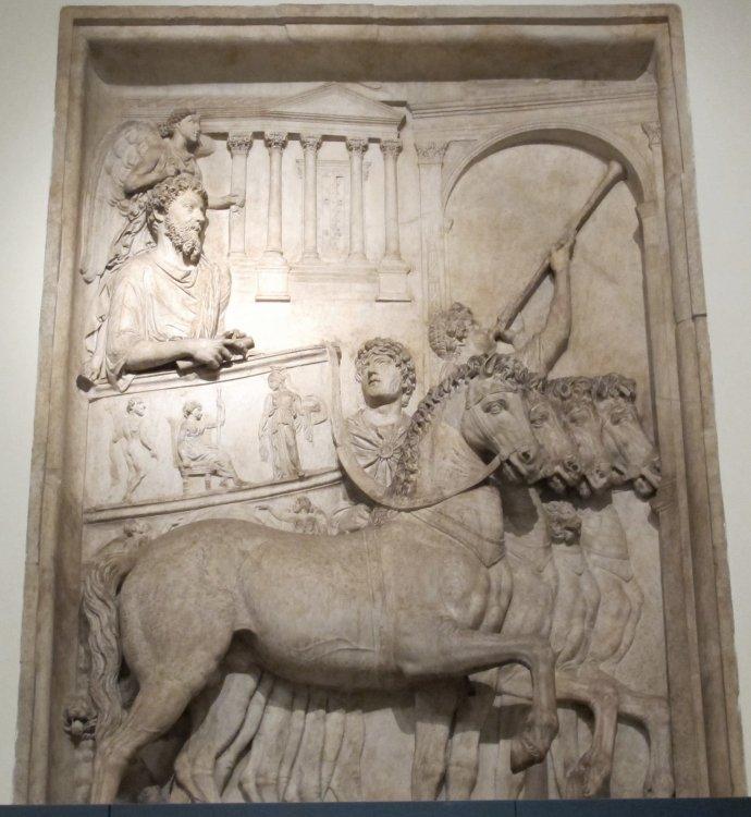 Pannello , Trionfo di Marco Aurelio.jpg