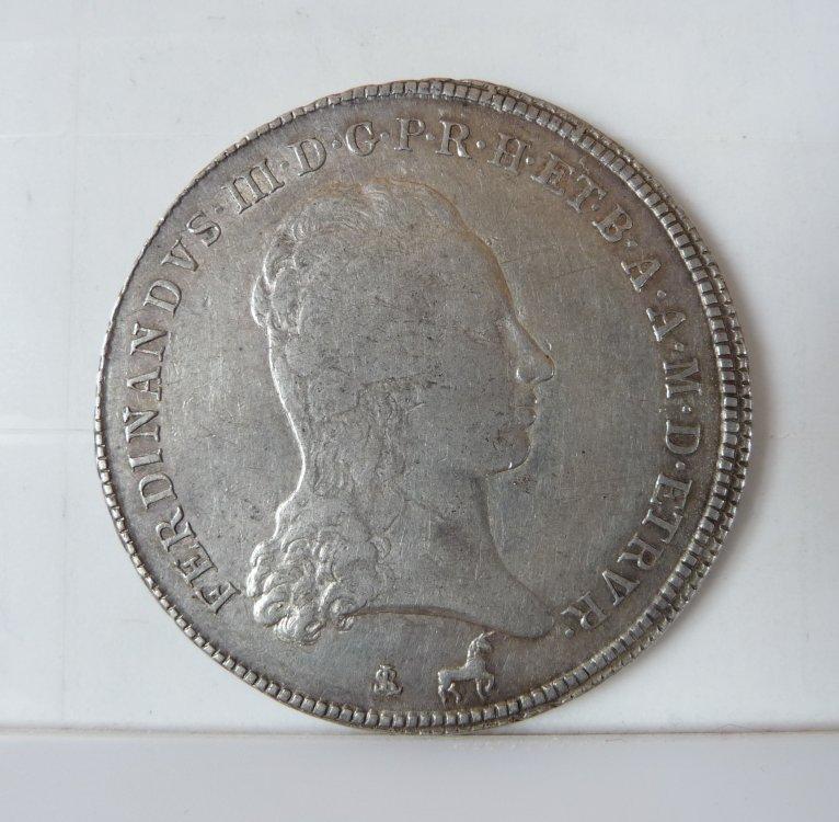 Francescone 1795 da 10 Paoli 2° Tipo Firenze Ferdinando III Di Lorena 1790-1801  (1).JPG