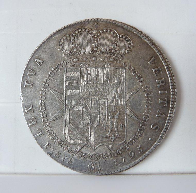 Francescone 1795 da 10 Paoli 2° Tipo Firenze Ferdinando III Di Lorena 1790-1801  (2).JPG