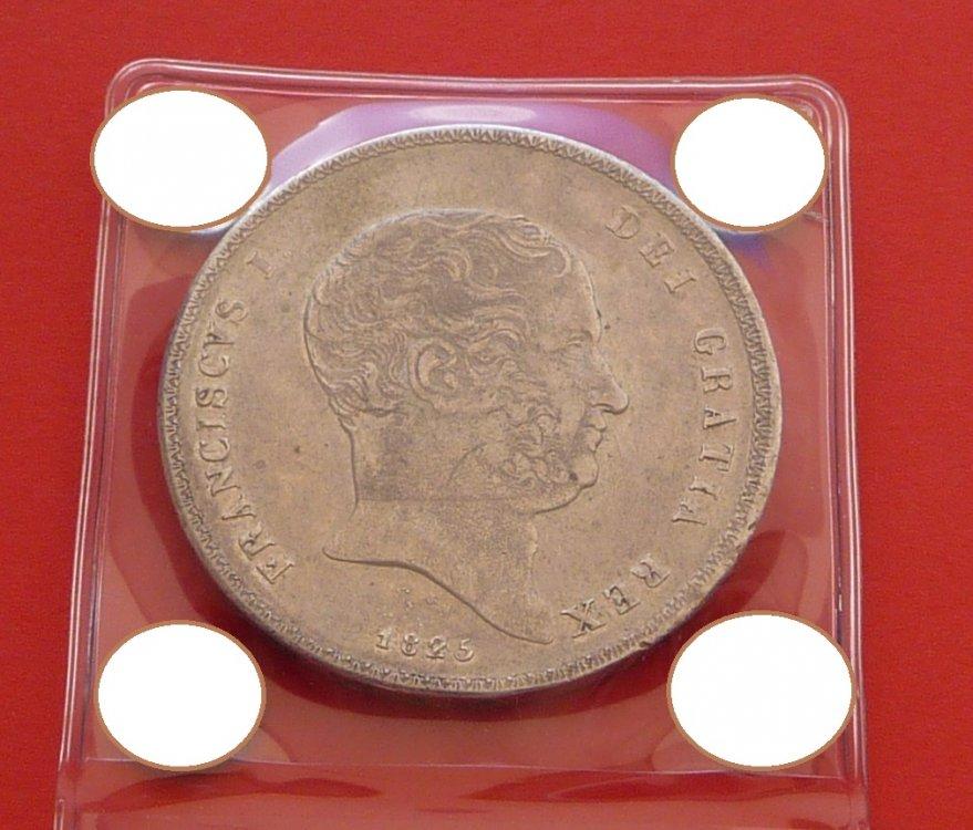 Piastra 120 Grana 1825 Regno Delle Due Sicilie Francesco I di Borbone 1825-1830 (5).JPG