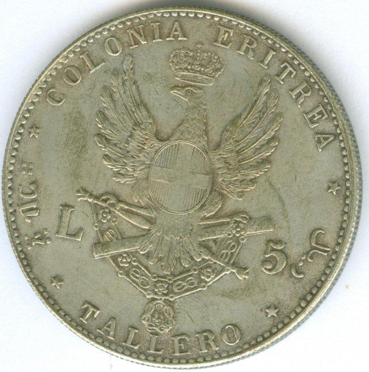 5 lire - TALLERO - UMB. I 1896 -retro.jpg