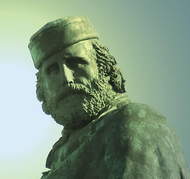 Particolare del Monumento a Giuseppe Garibaldi a Roma sul Gianicolo.jpg