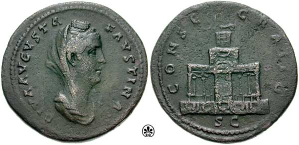 Faustina I , Consecratio , RIC1135.jpg