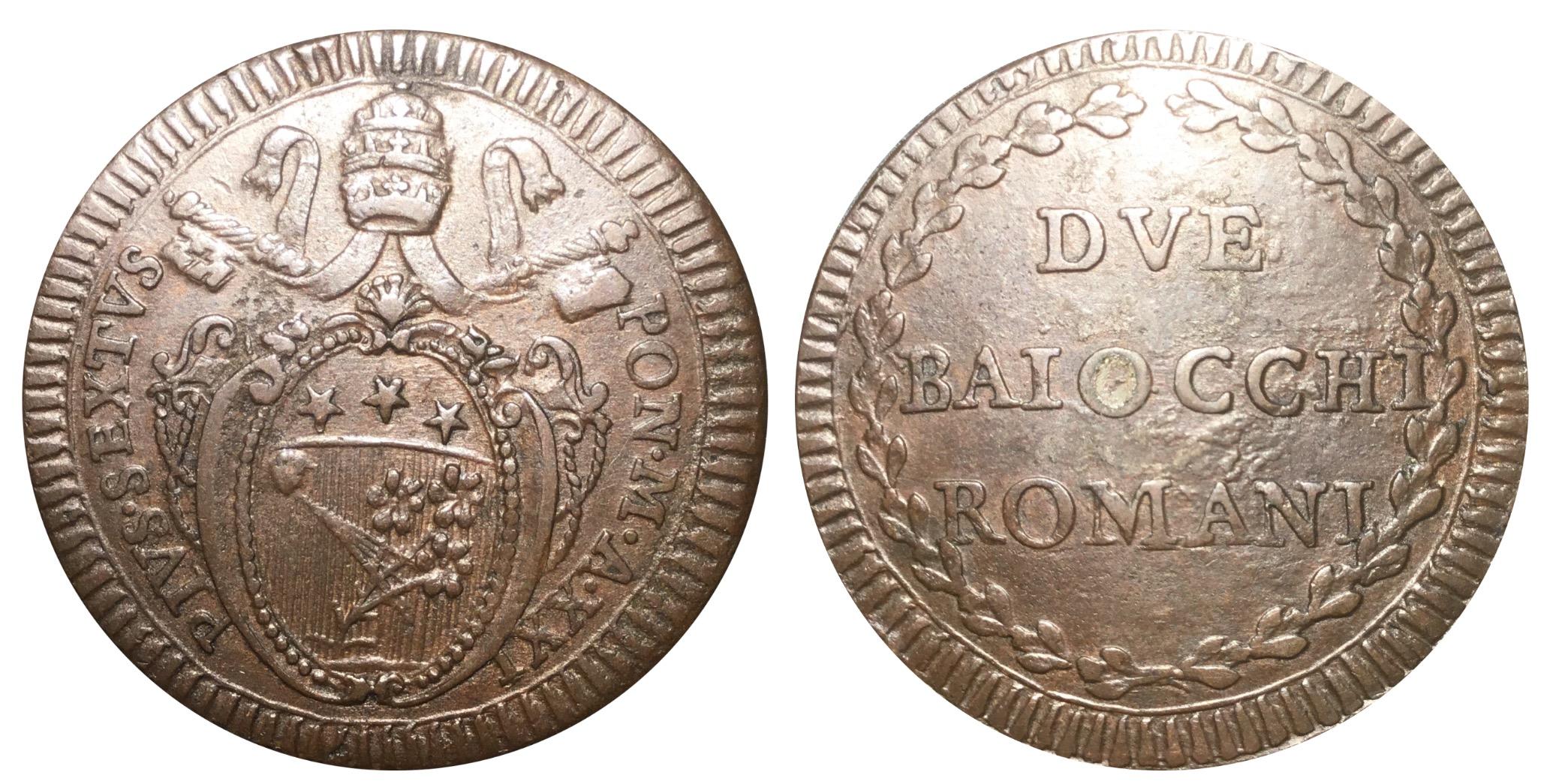 I Baiocchi pontifici - Monete e Medaglie Pontificie ...