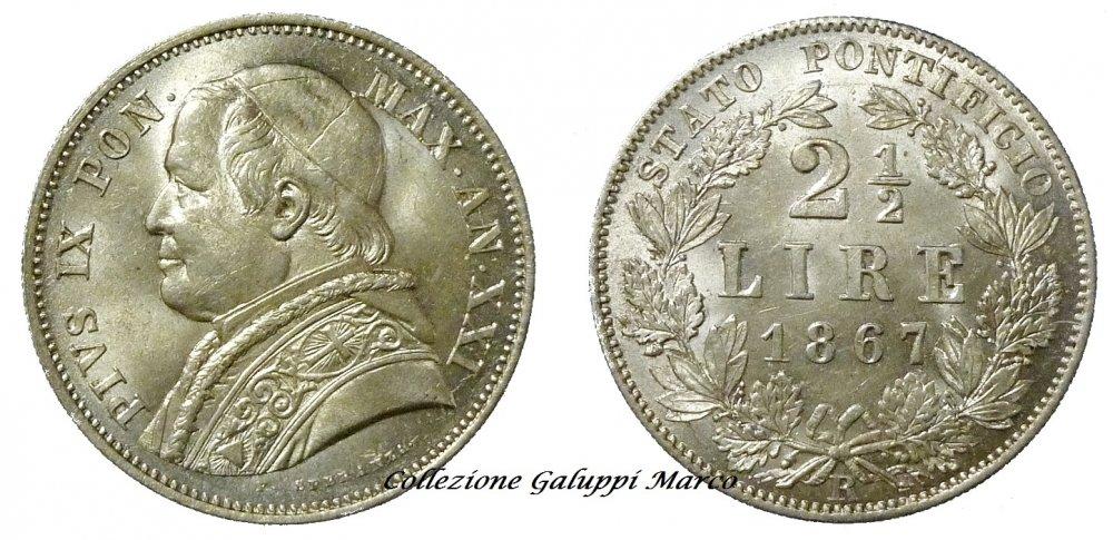 2 Lire e Mezzo 1867 XXI Roma.JPG
