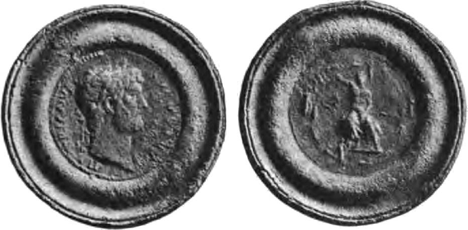 Medaglione di Adriano con Traiano al rovescio.jpg
