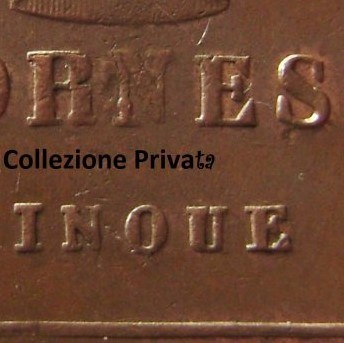 5 tornesi 1819 particolare della Q.jpg