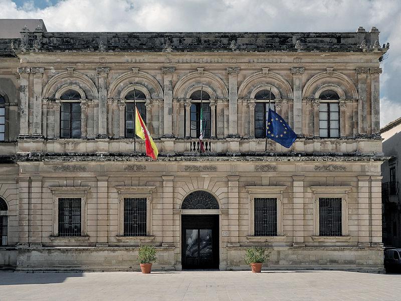 Museo Archeologico Nazionale , vecchia sede , a Piazza Duomo , Siracusa.jpg