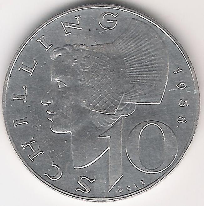Austria 10 Schilling 1958 A.jpg