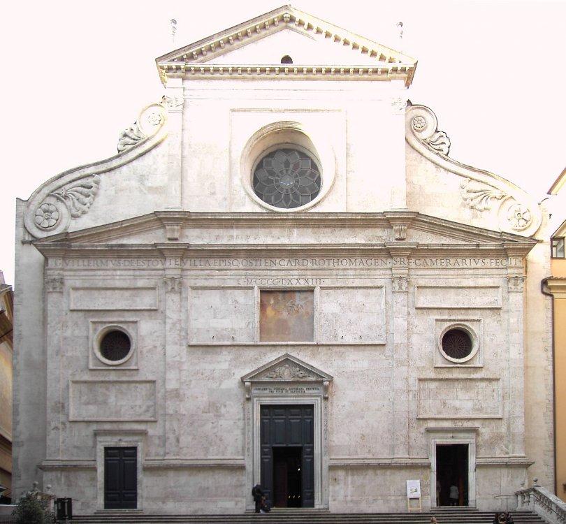 Chiesa di Sant' Agostino in Campo Marzio a Roma.jpg