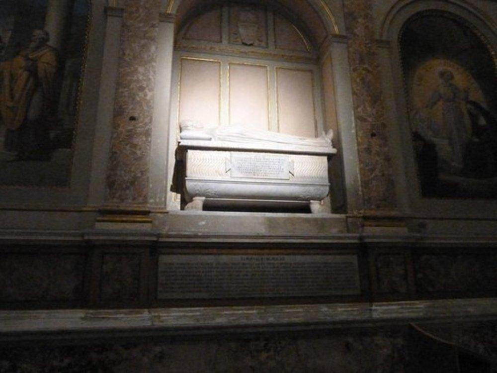 Tomba di Santa Monica nella Chiesa di Sant' Agostino.jpg