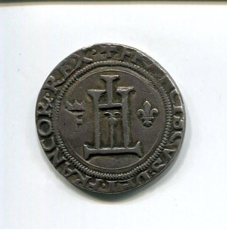 Genoa Francois I Teston nd 1527-8 obv 040.jpg