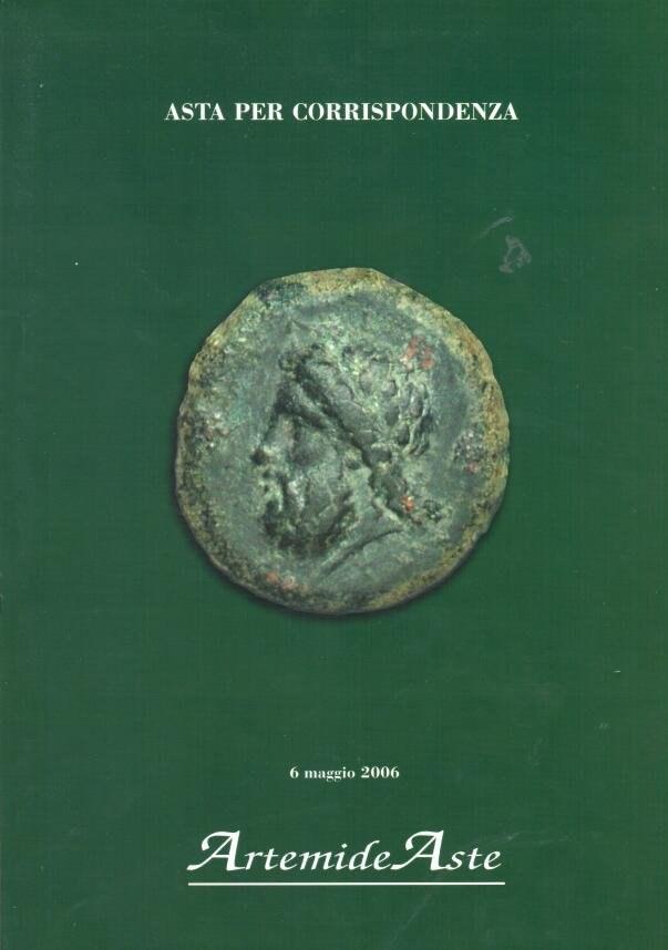 Catalogo d'Asta Artemide - 6 maggio 2006