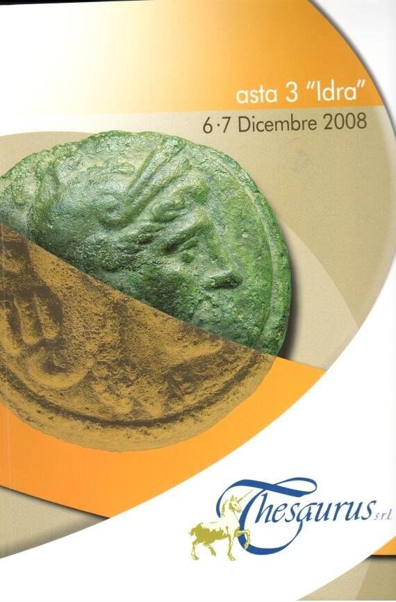 Catalogo d'Asta Thesaurus -  Dicembre 2008