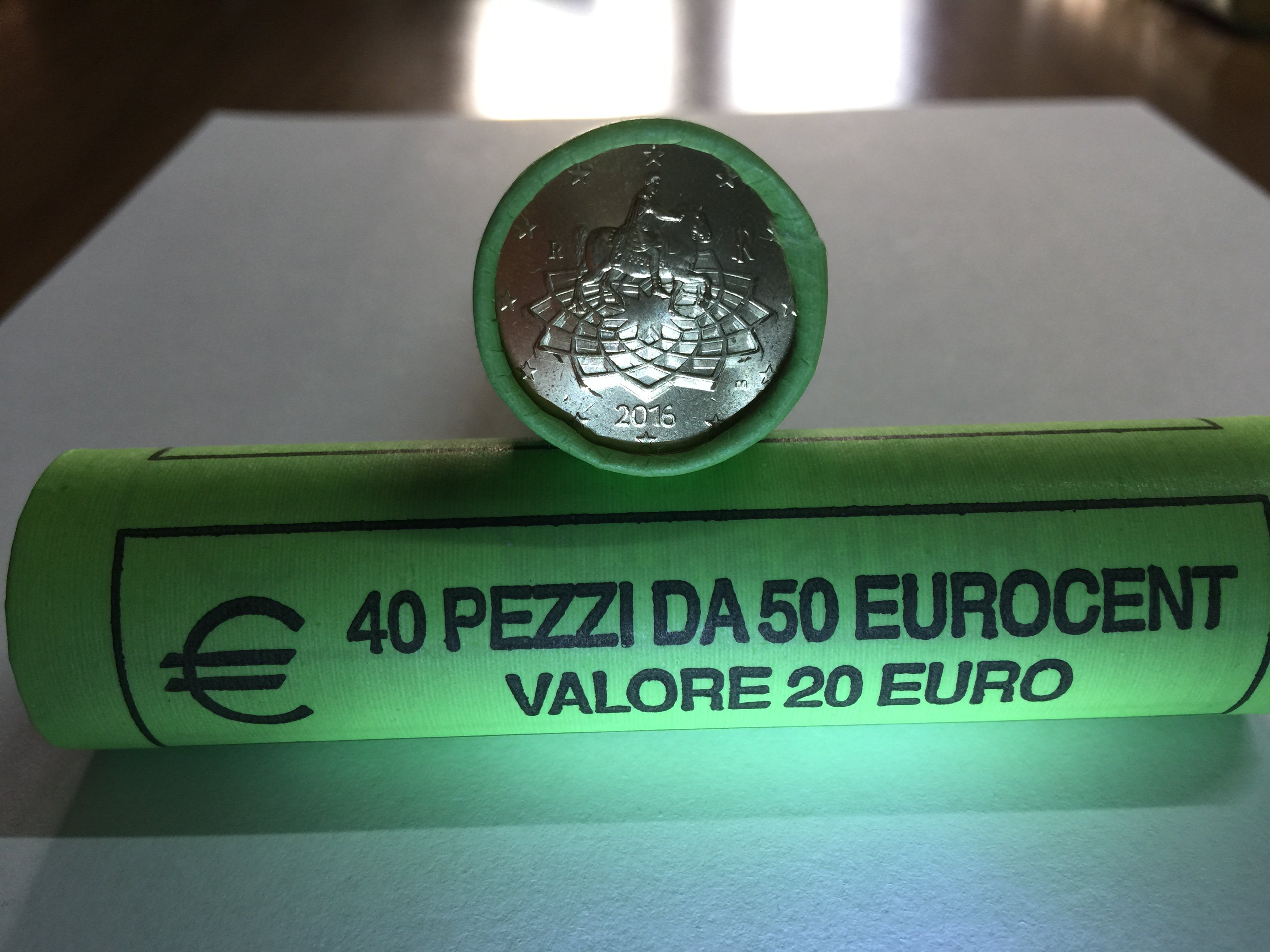 50 centesimi Italia 2016