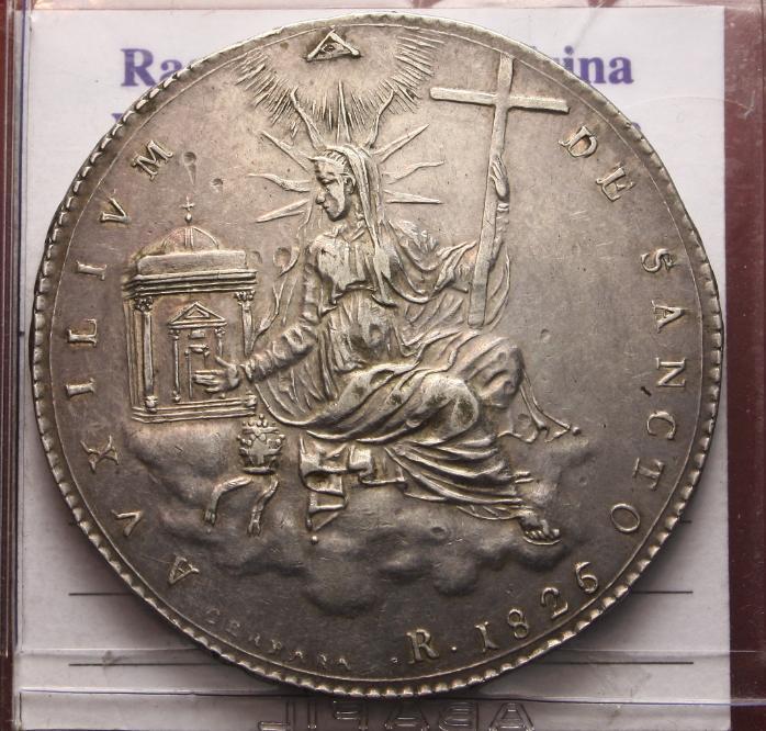 1-scudo-1826 -roma-leone-XII-BB-SPL Rovescio.jpg