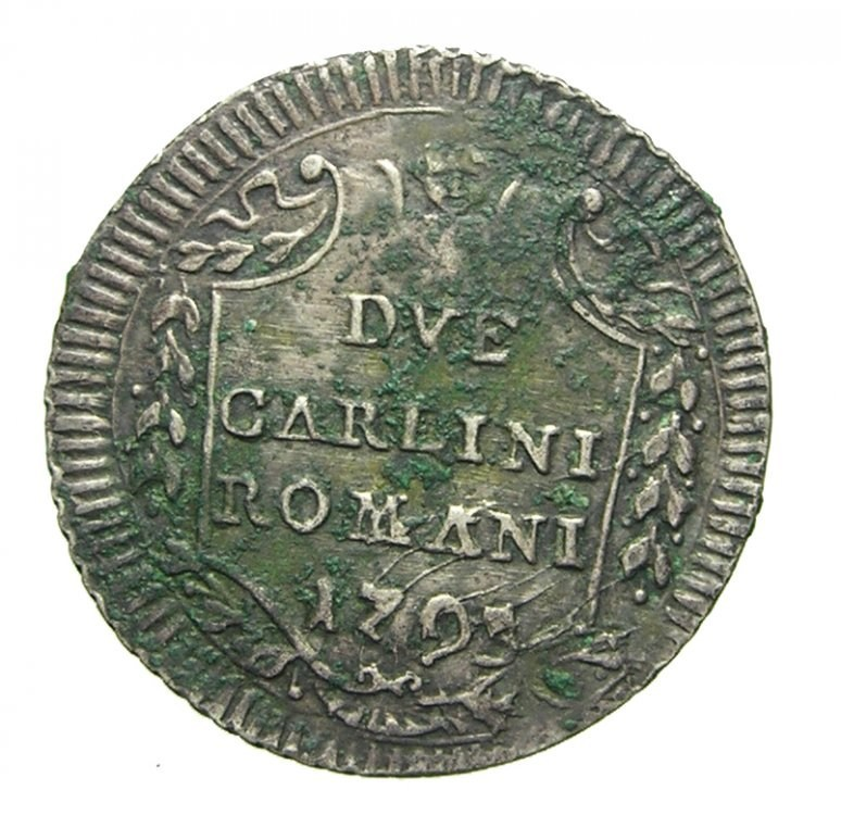 2 carlini romani 1793 Rv.jpg