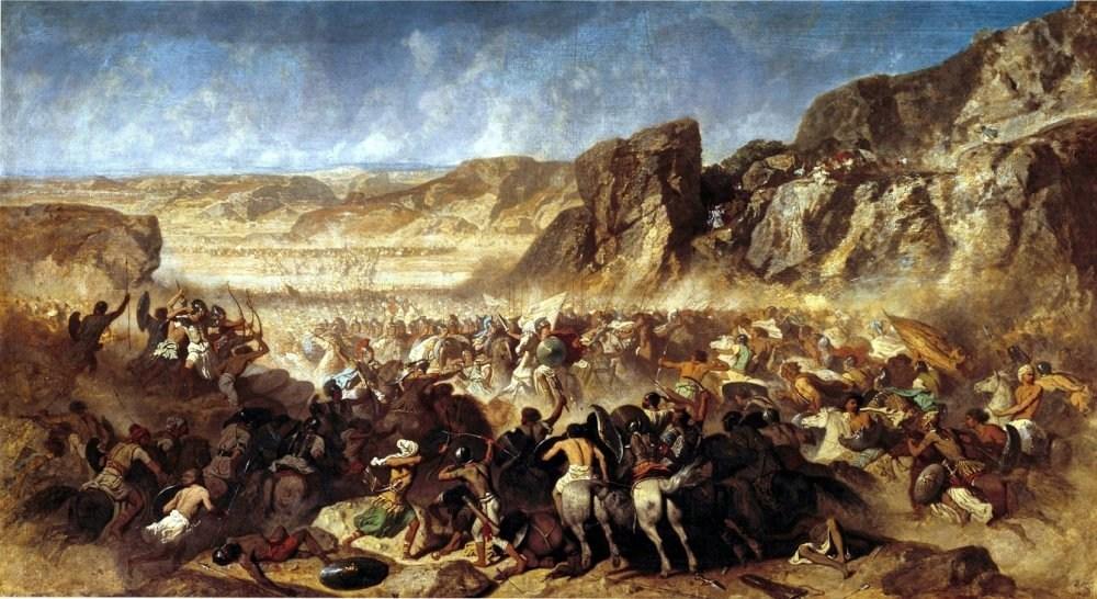 Adrien Guignet, La ritirata dei Diecimila, 1843..jpg