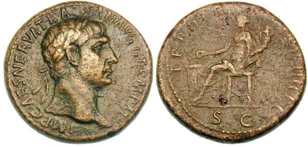 Traiano , RIC430 , Sesterzio 99-100.jpg