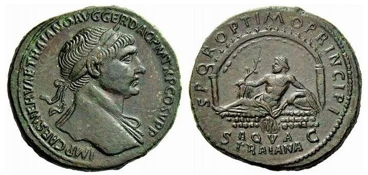 Traiano , RIC463 , Sesterzio del 110-111.jpg