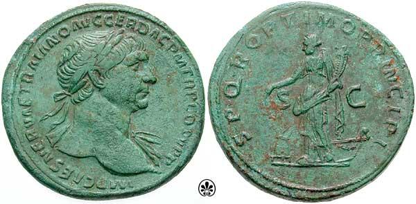 Traiano , RIC492 , Sestertius del 111.jpg