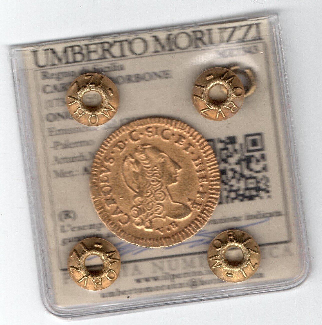 Oncia 1751 AU variante Rara