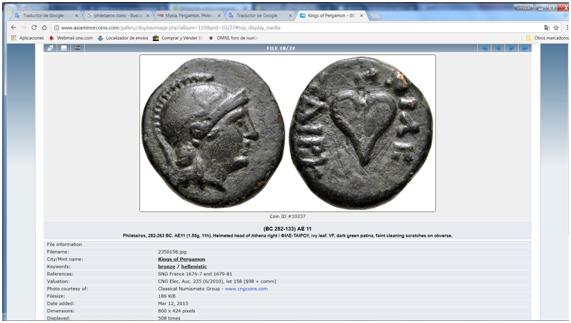 Petit bronze mysien de la cité de Pergamme au nom de Philetairos (282-263 av. J.-C.) ... Image.png.cc9fa3a4f475eefe825d665f430e2f56
